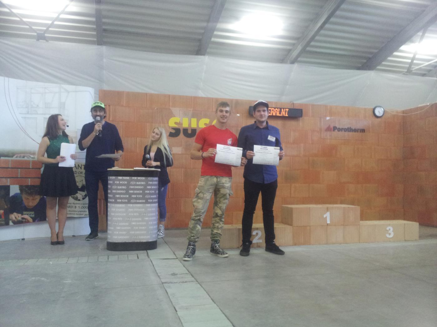 Finále soutěžní přehlídky stavebních řemesel SUSO 2017