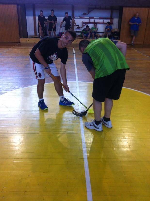 Florbalový turnaj na Střední škole řemeslné Jaroměř