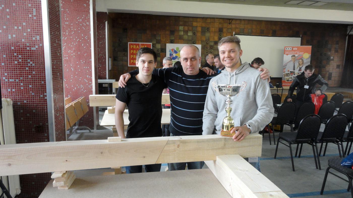Tesaři – 1. místo v oblastní soutěži Čech