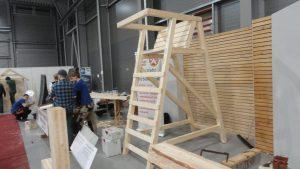 Prezentace tesařského řemesla výstava střechy Praha 2020