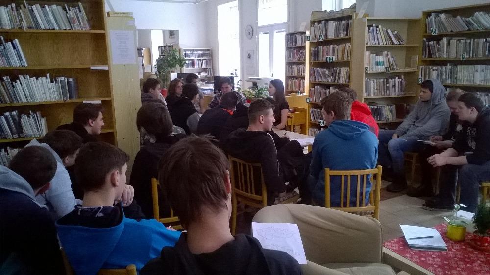 Návštěva Městské knihovny v Jaroměři